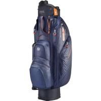 Bennington Quiet Organizer 9 (QO 9) LITE Waterproof Cartbag, Blau / Schwarz / Orange