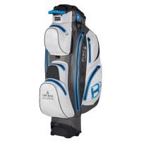 Bennington Sport Quiet Organizer 14 (QO 14) Waterproof Cartbag, Weiß / Grau / Blau
