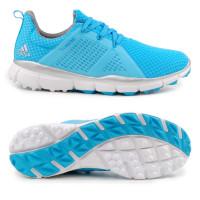 Adidas Climacool Cage Damen Golfschuhe, Cyan-Blau