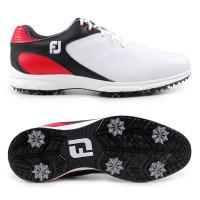 FootJoy ARC XT Herren Golfschuhe, Weiß / Schwarz / Rot