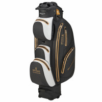 Bennington Sport Quiet Organizer 14 (QO 14) Waterproof Cartbag, Black / White / Gold