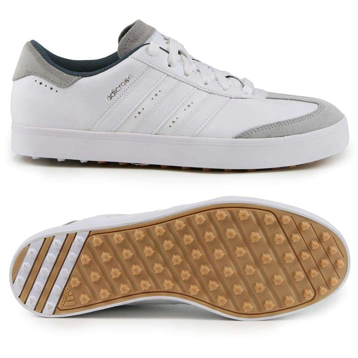 pretty nice 1a1b0 6242f Adidas adicross V Herren Golfschuhe, WIDE, Weiß  Grau günstig kaufen   Golflädchen