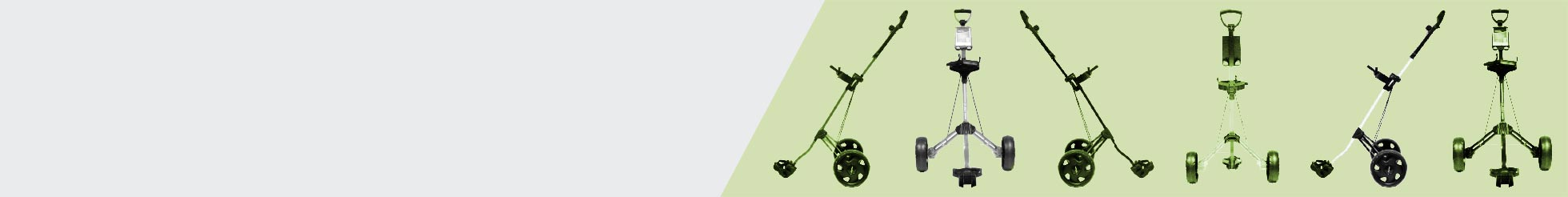 2-Rad Golf Trolleys