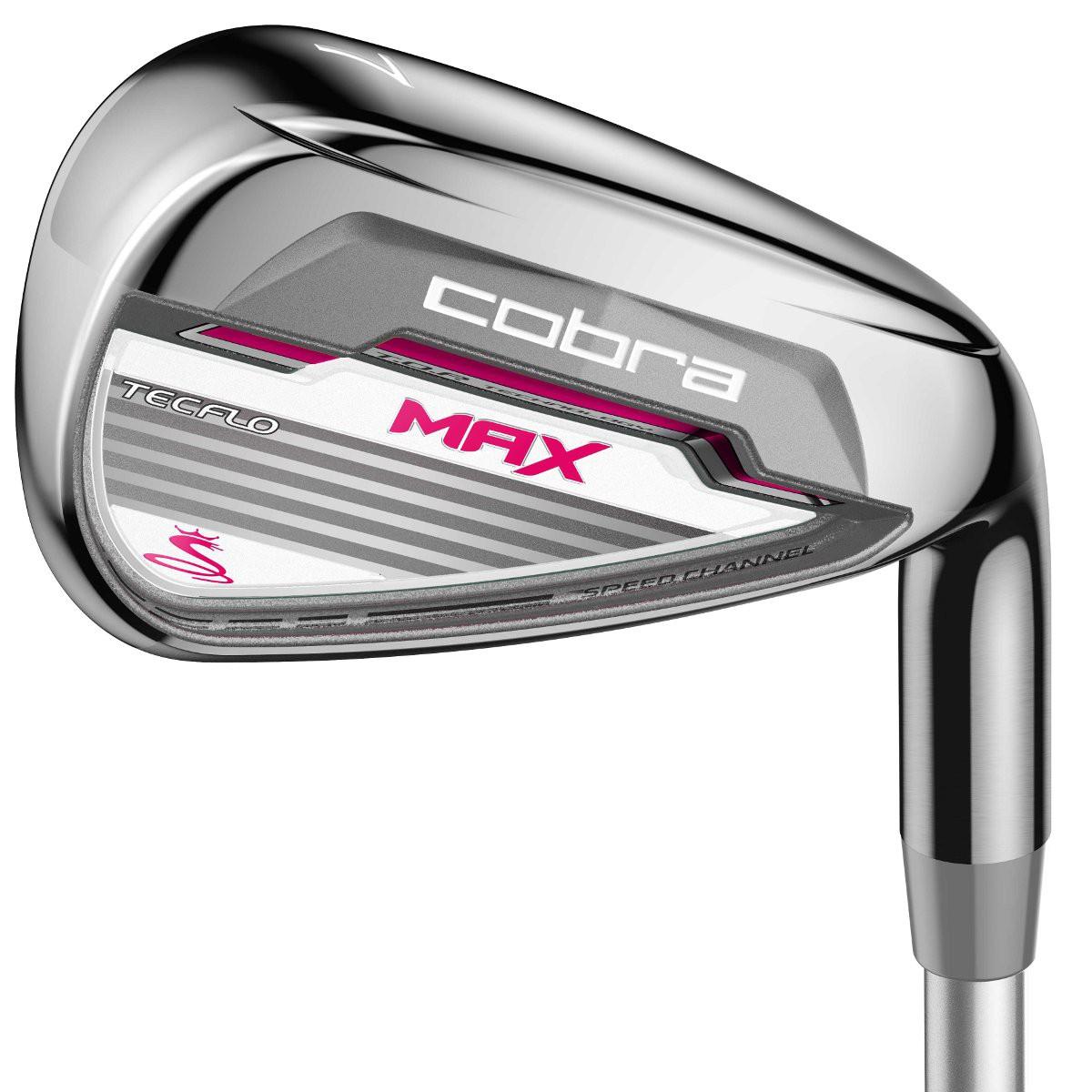 Golflaedchen.de Cobra Golf MAX Eisen, Graphitschaft, Damen Rechtshand