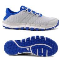 Adidas Climacool ST Herren Golfschuhe, Hellgrau / Blau