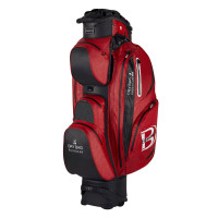 Bennington Sport Quiet Organizer 14 (QO 14) Waterproof Cartbag, Rot / Schwarz
