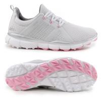 Adidas Climacool Cage Damen Golfschuhe, Hellgrau / Weiß