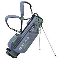 Big Max Dri Lite Seven Waterproof Standbag, Silber / Grün