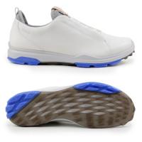 Ecco Biom Hybrid 3 GTX Damen Golfschuhe, Weiß / Blau