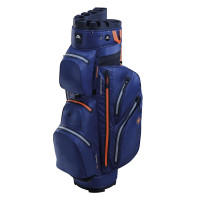 Big Max Aqua Silencio 2 Waterproof Cartbag, Navy / Orange
