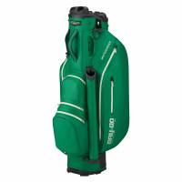 Bennington DRY Quiet Organizer 9 (QO 9) Waterproof Cartbag, British Green / Silver