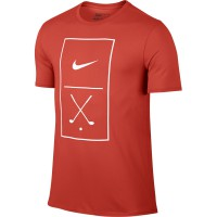 Nike Golf Graphic Tee Herren T-Shirt, Orange