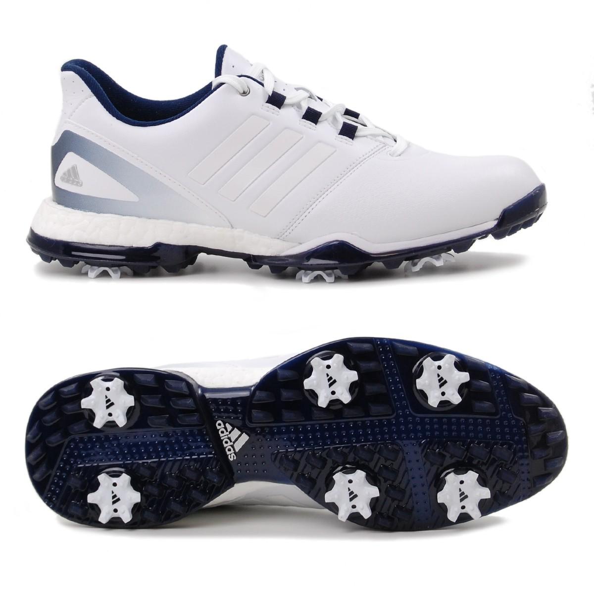 free shipping 971ed f471e Adidas adipower Boost 3 Damen Golfschuhe, Weiß  Dunkelblau günstig kaufen   Golflädchen