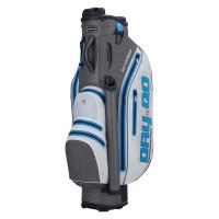 Bennington DRY Quiet Organizer 9 (QO 9) Waterproof Cartbag, Weiß / Grau / Blau