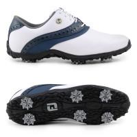 FootJoy ARC LP Damen Golfschuhe, Weiß / Marineblau