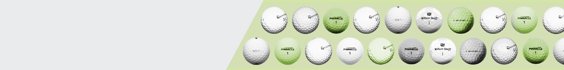 2-Piece Golfbälle