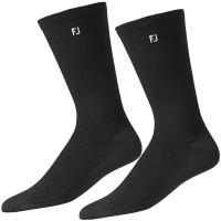 FootJoy Herren Golf Socken ProDry Crew, 2 Paar Doppelpack