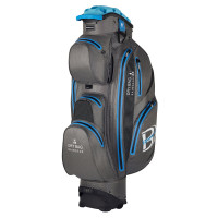 Bennington Sport Quiet Organizer 14 (QO 14) Waterproof Cartbag, Grau / Blau