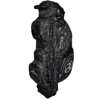 Bennington Sport Quiet Organizer 14 (QO 14) Waterproof Cartbag, Black Flash / Grey