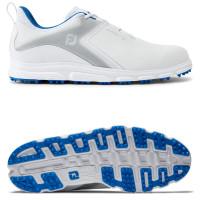 FootJoy Superlites XP II Herren Golfschuhe, Weiß / Grau / Blau