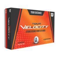 Wilson Tour Velocity Distance Golfbälle, 15 Stück