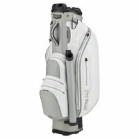 Bennington DRY Quiet Organizer 9 (QO 9) Waterproof Cartbag, White / Silver