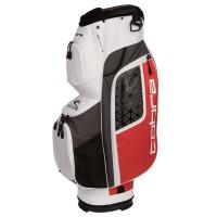 Cobra Ultralight Cartbag, Weiß / Grau / Rot