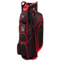 Bag Boy DLX 14 Cartbag Schwarz / Rot