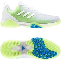 Adidas CodeChaos Herren Golfschuhe, Weiß / Grün