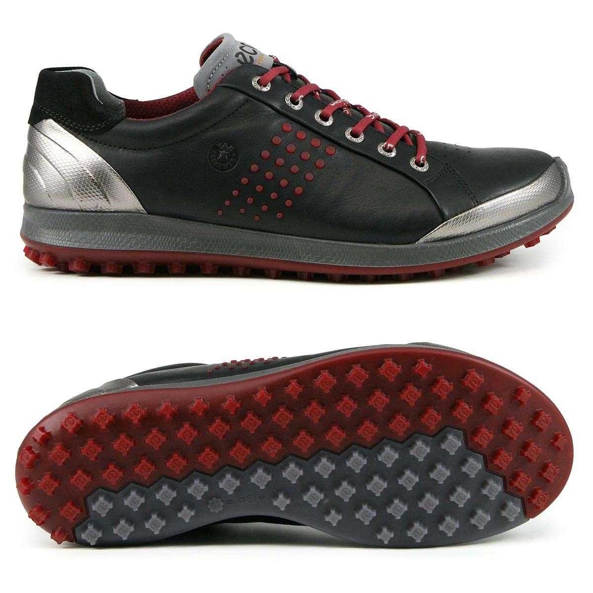cute cheap outlet boutique aliexpress Ecco Biom Hybrid 2 Herren Golf Schuhe, Schwarz / Grau