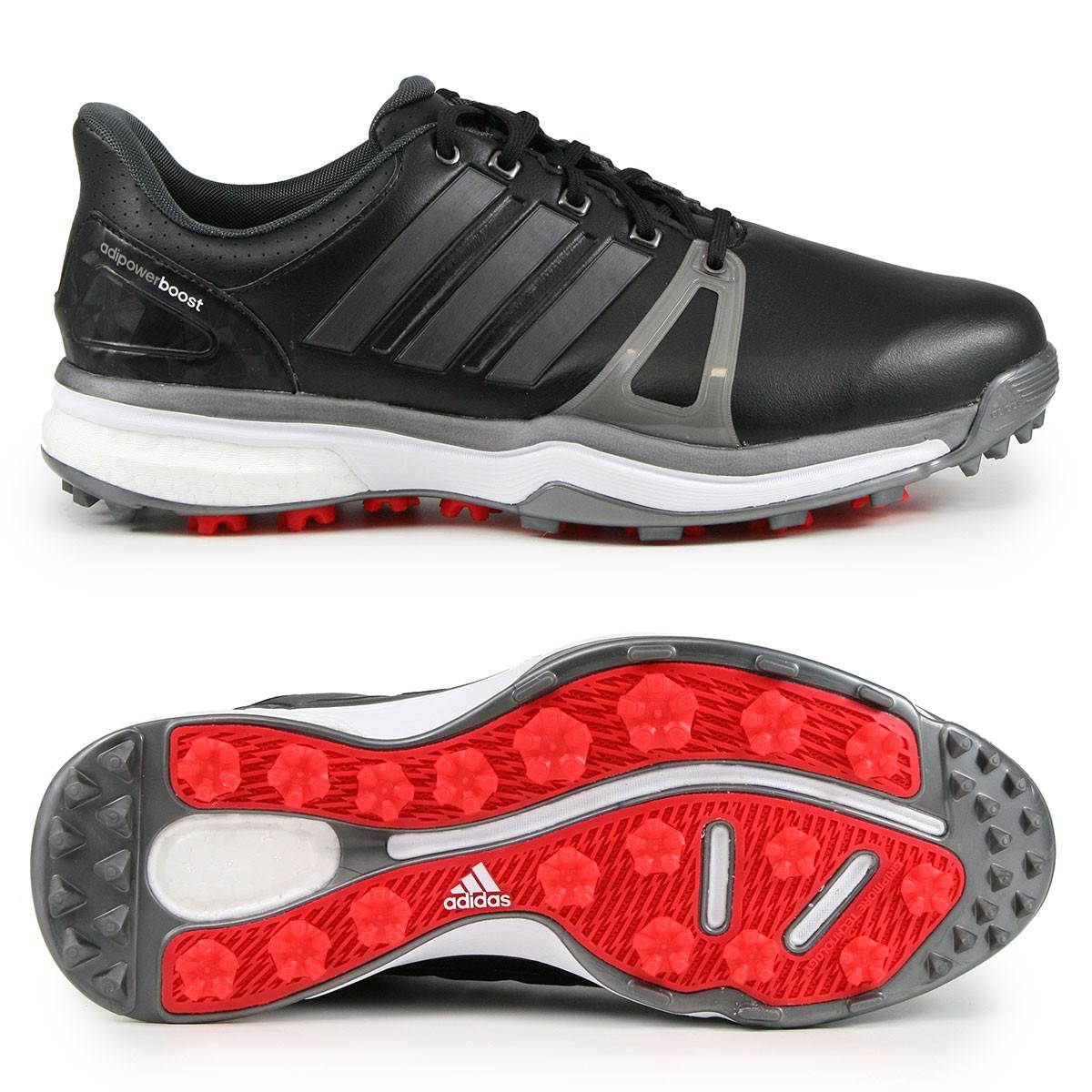 free shipping cb930 07d9c Adidas adipower Boost 2 Herren Golfschuhe, WIDE, Schwarz  Silbergrau  günstig kaufen  Golflädchen