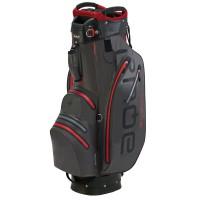 Big Max Aqua Sport 2 Waterproof Cartbag, Grau / Schwarz / Rot