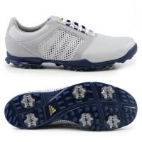 Adidas adipure Tour Damen Golfschuhe, Weiß / Grau / Blau