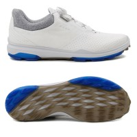 Ecco Biom Hybrid 3 GTX BOA Herren Golfschuhe, Weiß / Grau / Blau