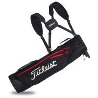 Titleist Premium Carrybag / Pencil Bag 2020, Schwarz / Rot / Weiß