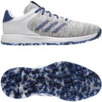 Adidas S2G Herren Golfschuhe, Weiß / Blau