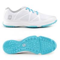 FootJoy Leisure Damen Golfschuhe, Weiß / Blau