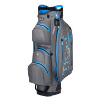TiCad DRY Tour Waterproof Cartbag, Grau / Blau