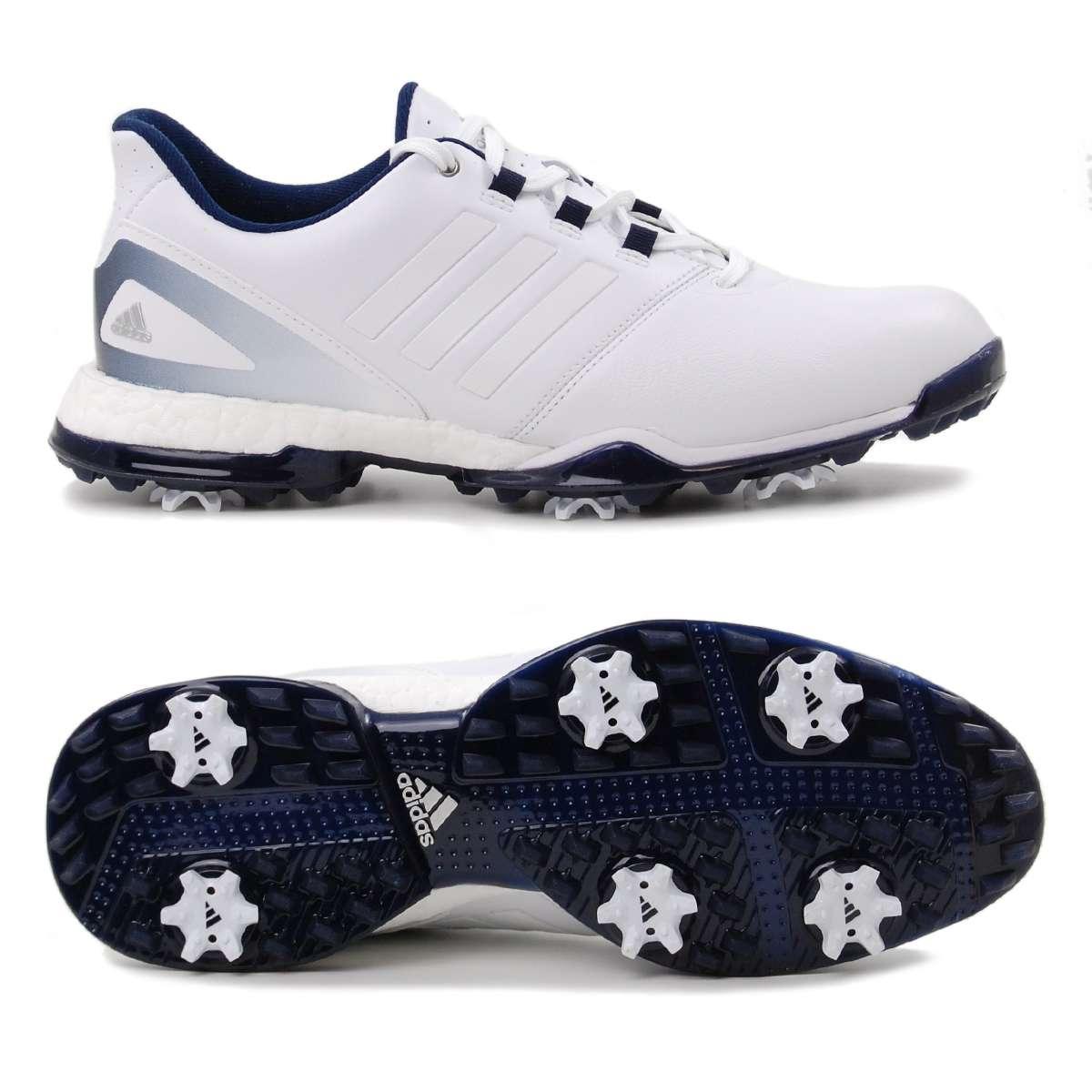 free shipping b9102 3717d Adidas adipower Boost 3 Damen Golfschuhe, Weiß  Dunkelblau günstig kaufen   Golflädchen