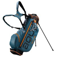 Big Max Aqua Wave Waterproof Standbag, Blau / Schwarz / Orange