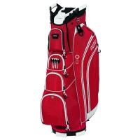 Bag Boy DLX 14 Cartbag, Rot / Weiß