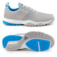 Adidas adipower 4orged S Herren Golfschuhe, Grau / Blau