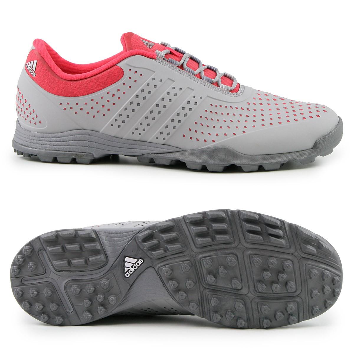 Adidas adipure Sport Damen Golfschuhe, Grau Rot günstig