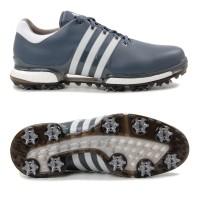 Adidas Tour 360 Boost 2.0 Herren Golfschuhe, Grau / Weiß / Schwarz