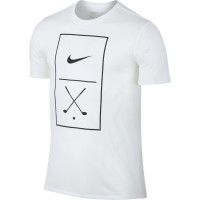 Nike Golf Graphic Tee Herren T-Shirt, Weiß