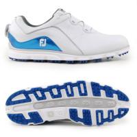 FootJoy Pro SL BOA Herren Golfschuhe, Weiß / Blau