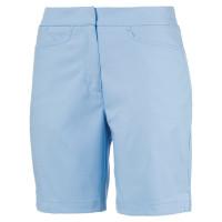 Puma Pounce Damen Golf Bermuda Shorts, Hellblau