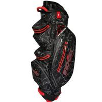 Bennington IRO Quiet Organizer 14 (QO 14) Waterproof Cartbag 2020, Black Flash / Red