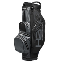 Sun Mountain H2NO Light Waterproof Cartbag, Schwarz / Grau