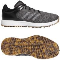 Adidas S2G Herren Golfschuhe, Schwarz / Grau / Weiß